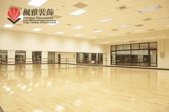合肥舞蹈房装修舞蹈教室装修舞蹈学校装修舞出精彩图片