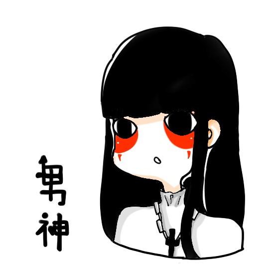 漂亮黑衣女孩子头像(7)
