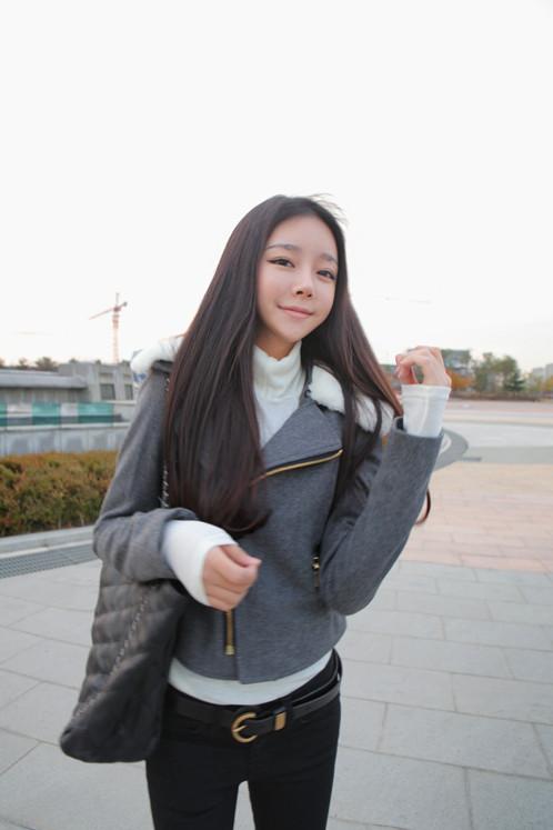 【图】秋冬韩国ulzzang朴寒星 赵敏英官网款 同高清图片