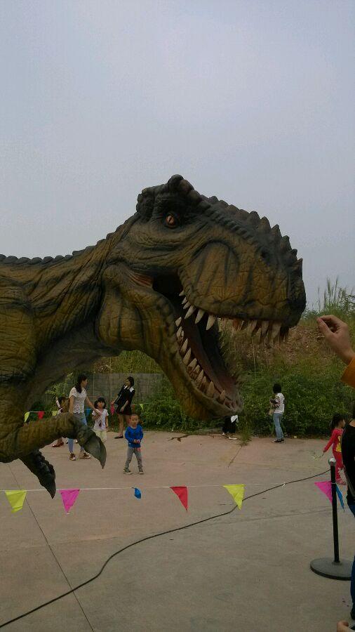米语】三水森林公园只限两天的恐龙模型展图片