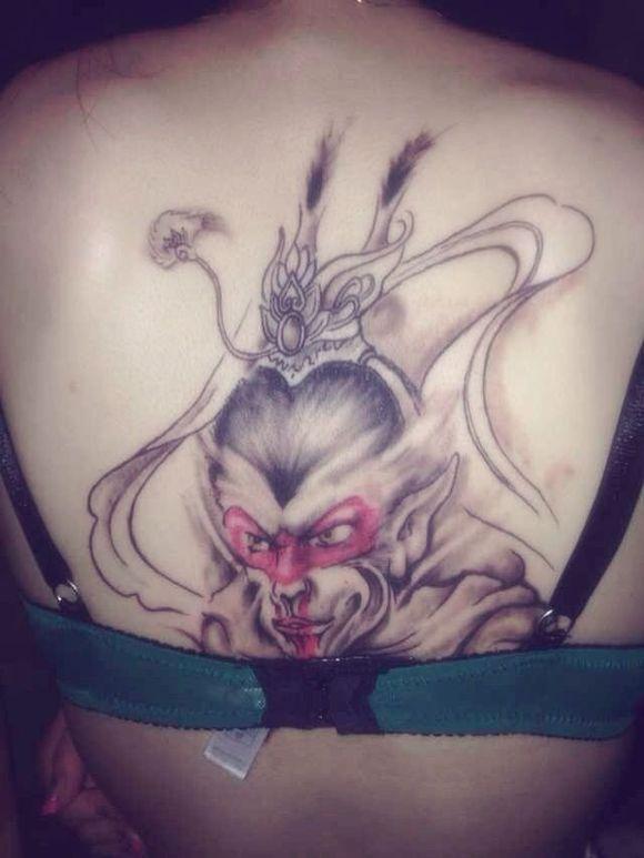 【灌水】都来说说,大家对身上现在的纹身满意吗?图片
