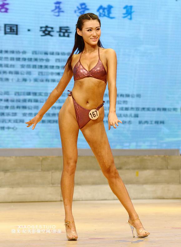 2014年四川省健身健美锦标赛女子图片