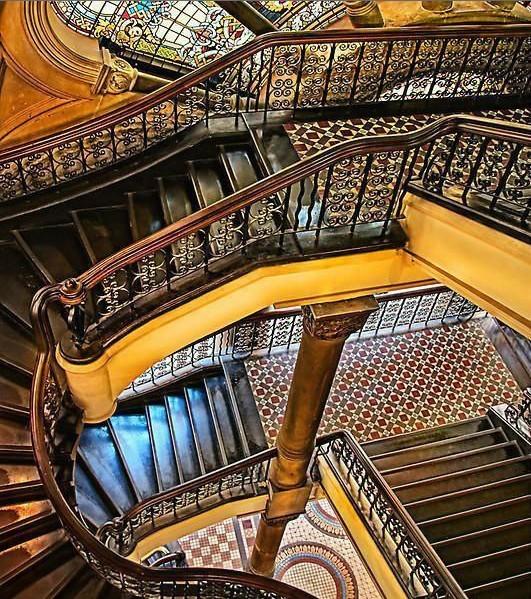 全球十大创意楼梯欣赏图片