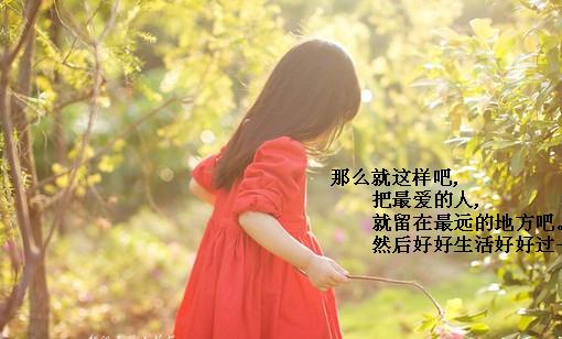 那些触动心灵的句子 樱花散落一地忧伤