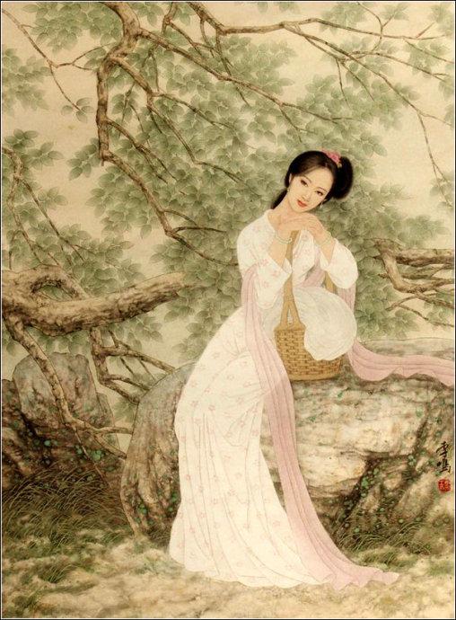 古典美女画