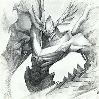 lol冰鸟手绘图片