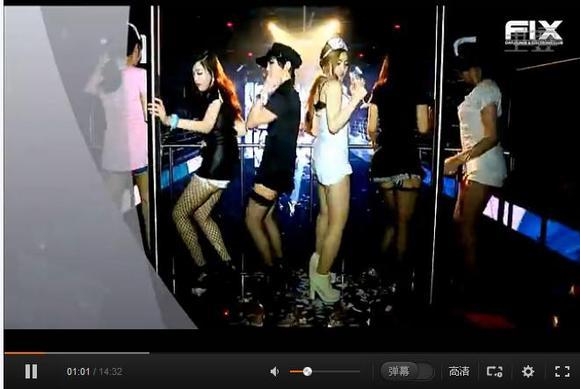 韩国超嗨夜店美女dj串烧!
