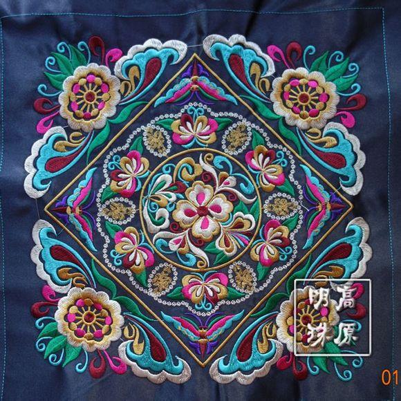 绣——苗绣是指苗族民间传承的刺绣技艺,主要流传在贵州省黔东南图片