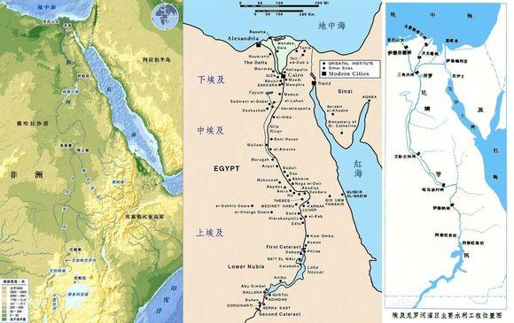 世界四大文明古国之一的埃及图片