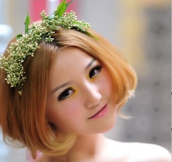 济南娟子打造新娘妆,风格:中式新娘,欧式宫廷新娘等各式华丽图片