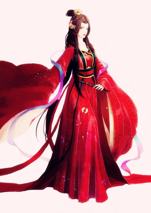 1098955687_红衣古装美女图 > 白衣古装美女 > 唐嫣古装美女图 ...