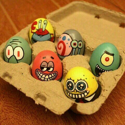 纯手工手绘彩蛋,创意满满图片