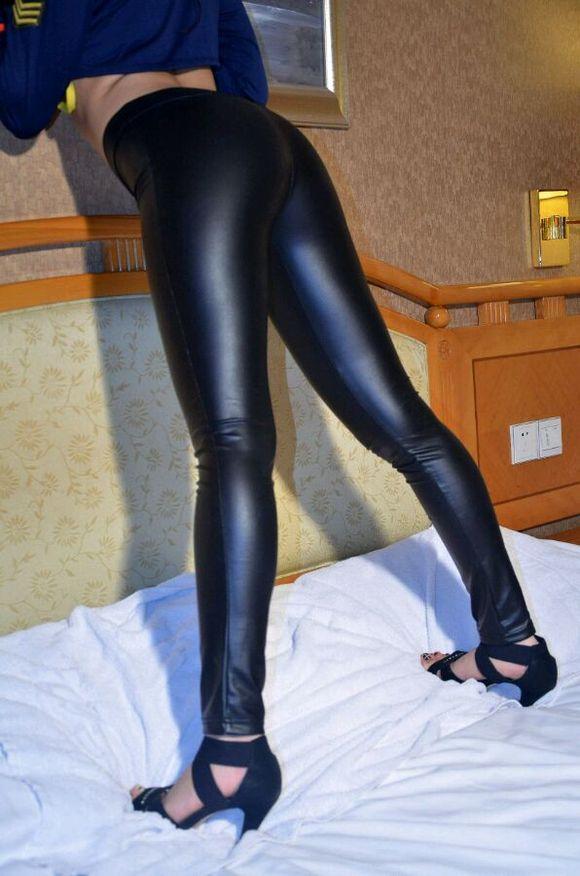 【皮裤】皮裤美女
