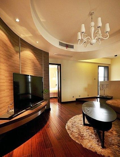 新婚夫妇的家100平三居室装修效果图 鲁公大宅吧 百度贴吧 高清图片