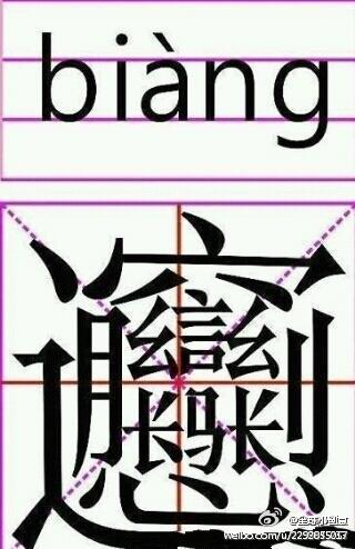 笔画最多的汉字好好数下几画-内涵图 吞噬星空吧