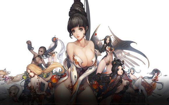 整个游戏圈是超级美女加大屁股和大胸部最为符合漫画