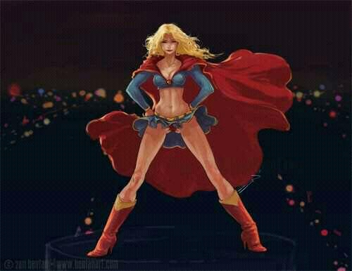 美国dc动漫女英雄:女超人图片3