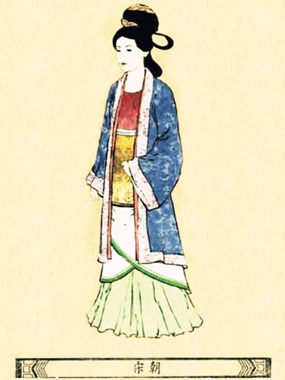 【古代服饰】古代美女们都穿什么?图片