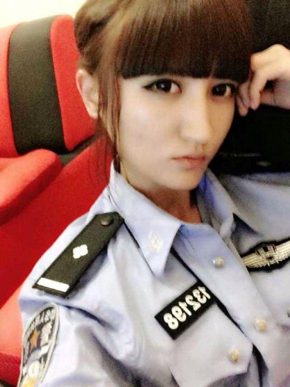 线的中国最美女特警