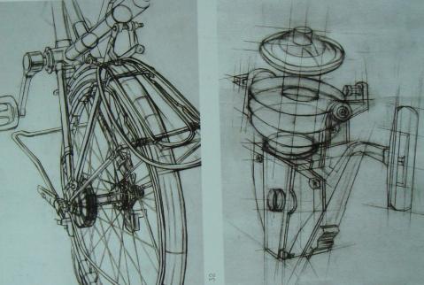 设计素描作品欣赏图片