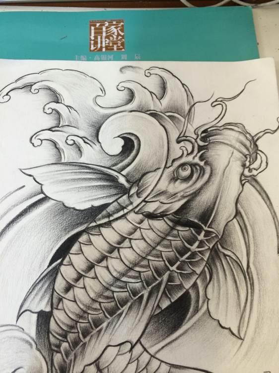 回复:王威刺青 作品及手稿_长春纹身吧_百度贴吧图片