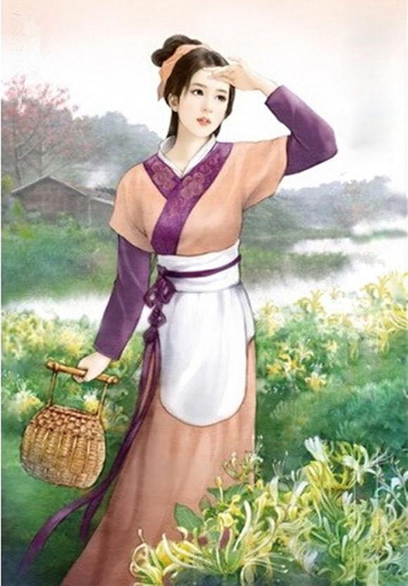 回复:【武则天】一个专属你的古装美女图绘