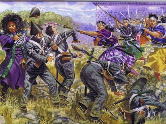 女武士和天皇激战
