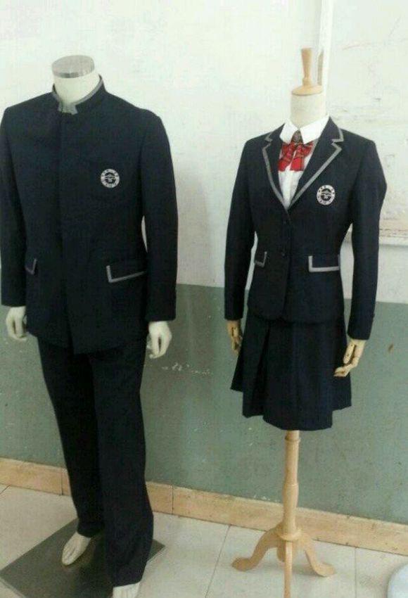新一中的校服,这是在挑衅嘛?_济宁实验中学吧_百度图片