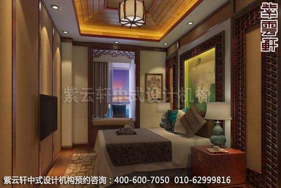 章总豪华别墅古典中式装修效果图—清淡日子图片