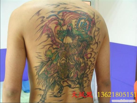 关公降龙的纹身有什么讲究?图片