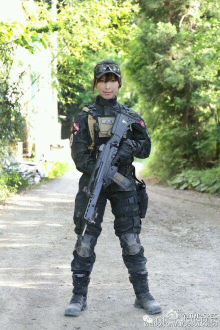 比日本美女怎样?战斗在反恐第一线的中国最美女特警