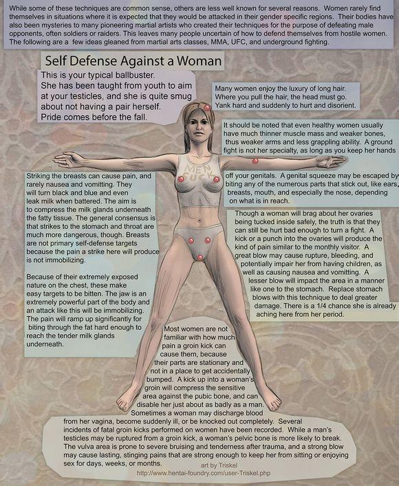 女权主义吧的胡吹女性裆部不是弱点