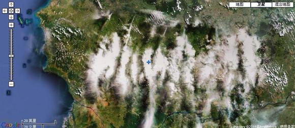 1月11日谷歌卫星地图 地震吧图片