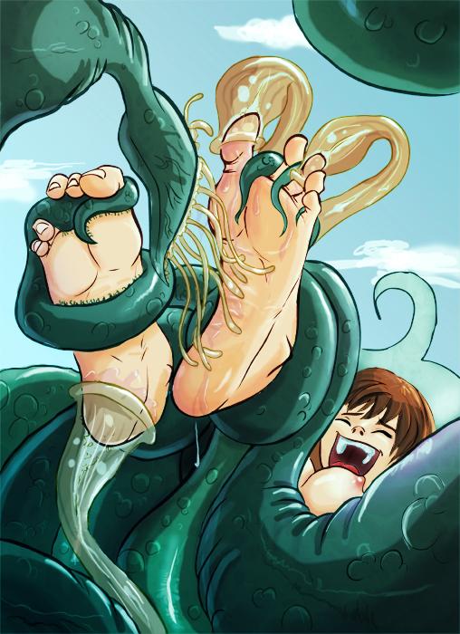 有没有触手系列的挠痒痒漫画?要美女发笑的