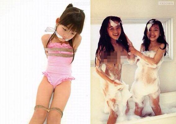 日本小学生的大胆写真