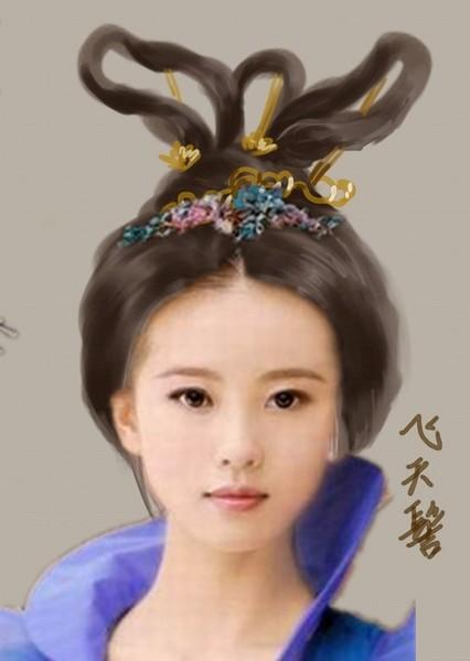 古代女子发型大全 和谐社工吧