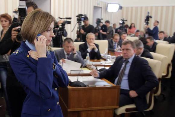 克里米亚美女检察官 乌克兰局势吧