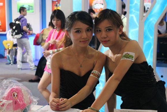 上海动漫节的美女们