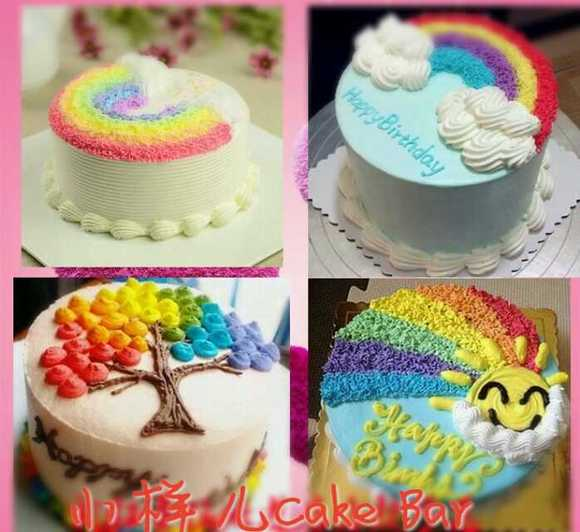 哪里的生日蛋糕有创意啊图片