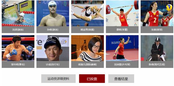 新浪体育年度十佳运动员评选排球项目朱婷入围 大家为她投高清图片