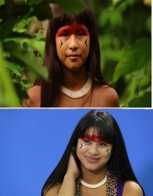 印第安人也有美女 真的