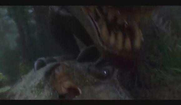 棘背龙VS霸王龙
