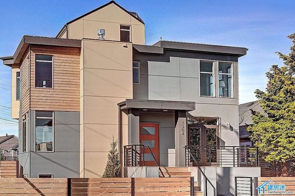 转贴:现代感别墅设计欣赏,农村自建房两层效果图参考1304-建房迷-.图片