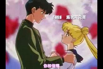 【提问】谁知道美少女战士第五部结局小卫和小兔接吻