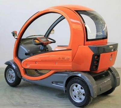 双座代步四轮电动车 高清图片