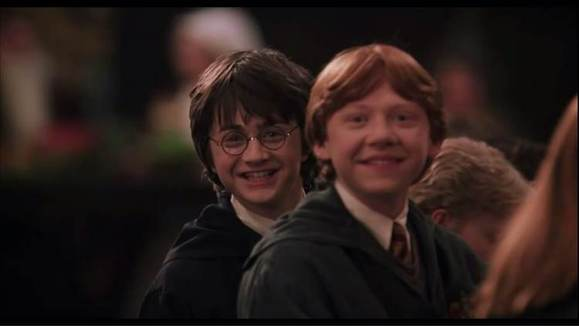 哈利和罗恩都承认在没有和赫敏在一起之前她是他们的好图片