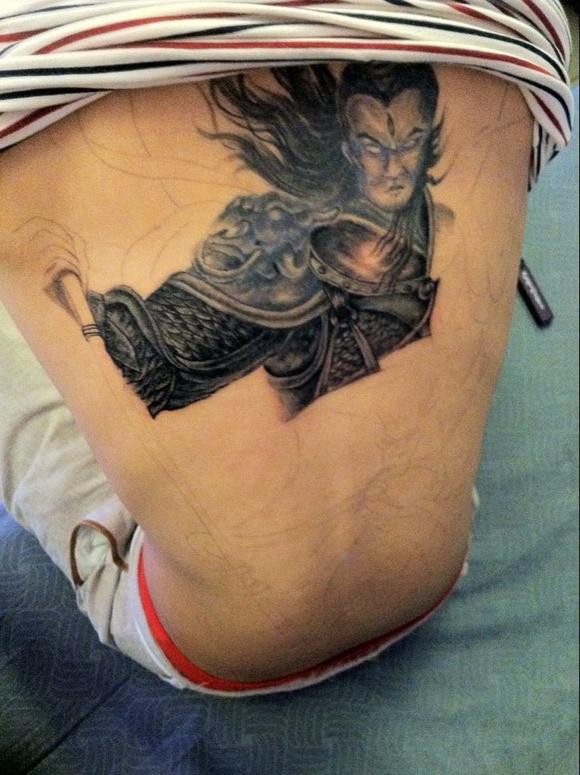 有那位大神知道徐州纹身技术较好价格公道的地方图片