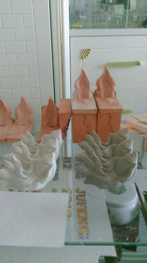 【分享】手工注浆陶艺的过程
