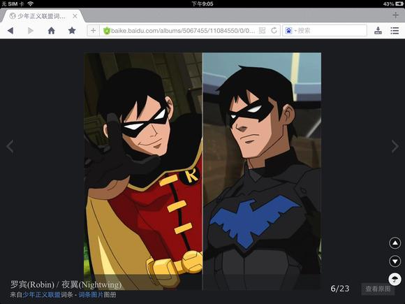 蝙蝠侠夜翼罗宾