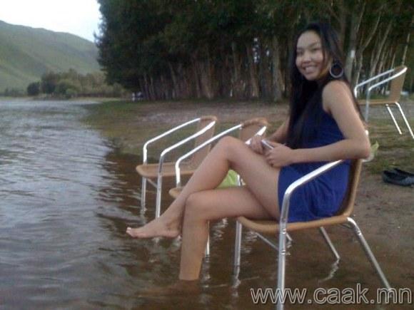蒙古国 长腿美女(组图)图片